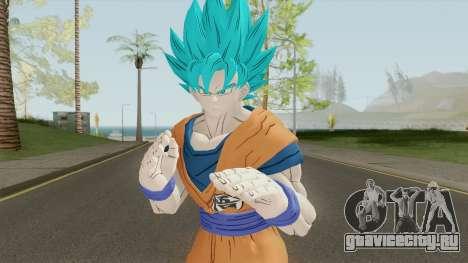 Goku SSJ Blue для GTA San Andreas