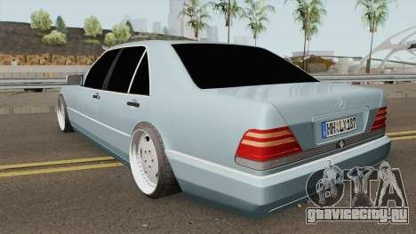 Mercedes S-Klasse W140 1991 SlowDesign для GTA San Andreas