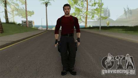 Ryan Lennox From Infernal для GTA San Andreas