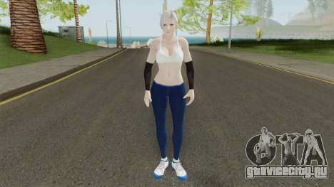Christie (Sport Leggings) From DOA5LR для GTA San Andreas