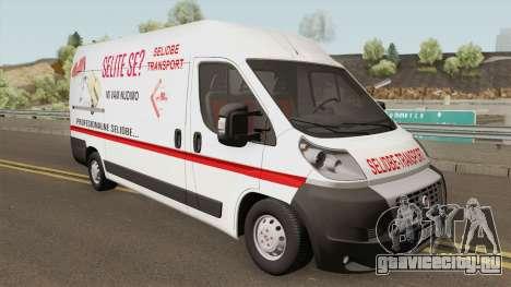 Fiat Ducato Mk3 Maxi Selidbe Transport для GTA San Andreas