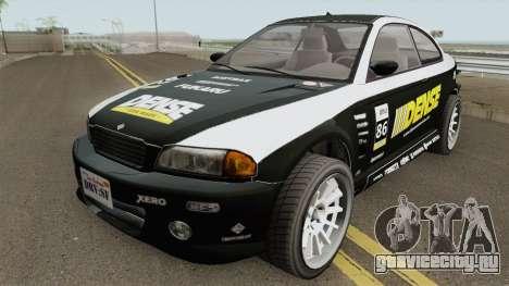 Ubermacht Sentinel Retro GTA V для GTA San Andreas