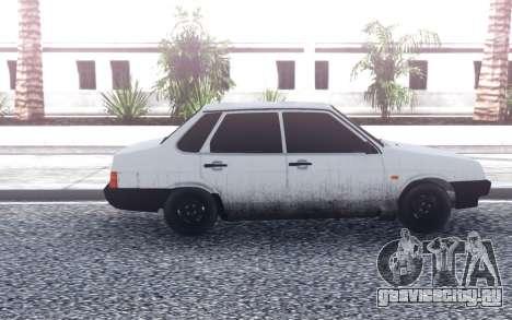 ВАЗ 21099 Битая для GTA San Andreas