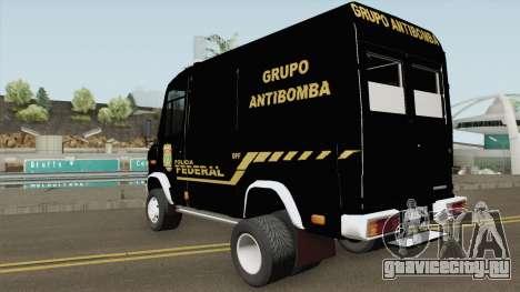 Mercedes-Benz Vario 512D Policia Federal для GTA San Andreas