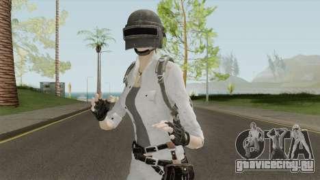 PUBG Girl Skin для GTA San Andreas