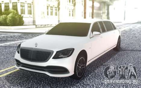 Mercedes-Benz S650 Pullman Maybach 2019 для GTA San Andreas