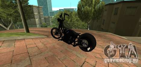 Harley Davidson 110cid Night Train для GTA San Andreas