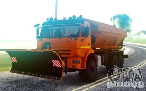 Камаз 43118 Комбинированная дорожная машина для GTA San Andreas
