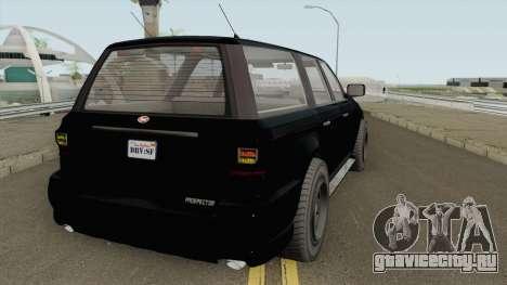 Vapid Prospector FBI V2 GTA V для GTA San Andreas