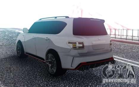 Nissan Patrol Nismo для GTA San Andreas