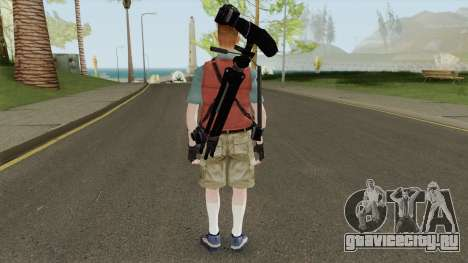 Kent Swanson from Dead Rising для GTA San Andreas