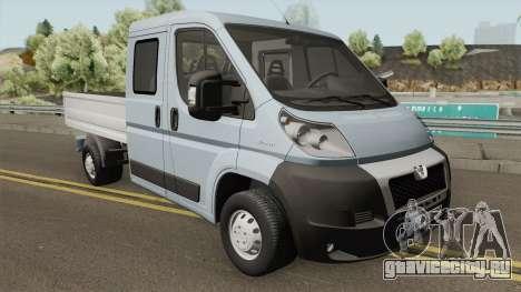 Peugeot Boxer Pickup Double Cabin для GTA San Andreas