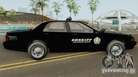 Sheriff Cruiser GTA V для GTA San Andreas