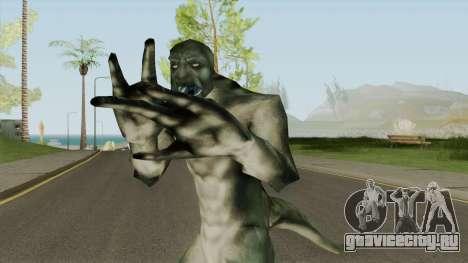 Ninja Lizard Player Skin для GTA San Andreas