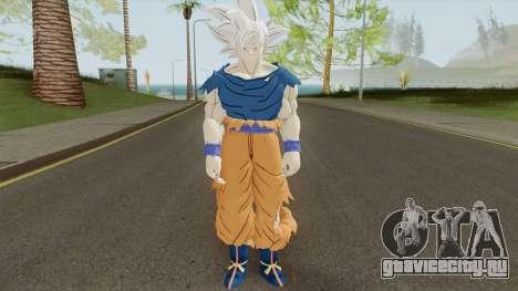 Goku Ultra Instinto Dominado для GTA San Andreas