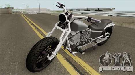 Western Motorcycle Wolfsbane GTA V для GTA San Andreas