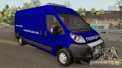 Fiat Ducato Maxi Serbian Police для GTA San Andreas