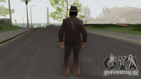 John Marston Elegant Outfit From RDR 2 V2 для GTA San Andreas
