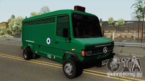 Mercedes-Benz 609D Gendarmeria De Chile для GTA San Andreas