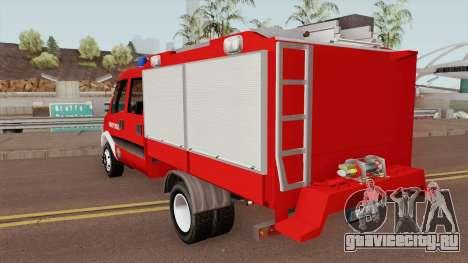 Iveco Daily Mk4 - Autospeciala Pompieri 2008 для GTA San Andreas