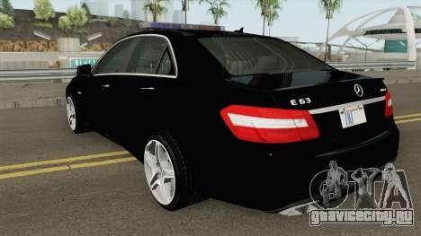 Mercedes-Benz E63 AMG Magyar Rendorseg для GTA San Andreas