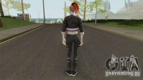 Skin From Amazing Player Female Mod для GTA San Andreas