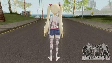 Akituki Airi для GTA San Andreas