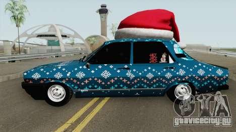 Dacia 1310 CN3 Christmas Edition для GTA San Andreas