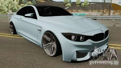BMW M4 2014 SlowDesign (Black Wheels) для GTA San Andreas