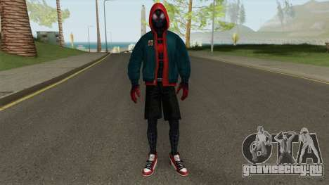 MFF Miles Morales Into the Spiderverse для GTA San Andreas