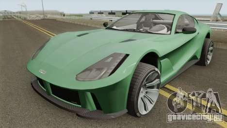 Grotti Itali GTO Stock GTA V для GTA San Andreas