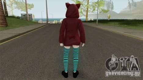 Marie Rose Fuwa Kumi Outfit для GTA San Andreas