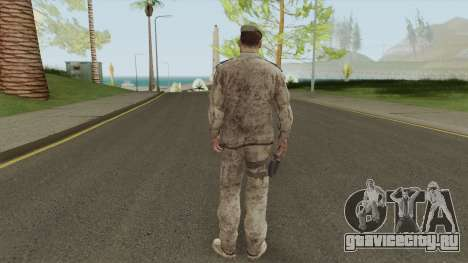 Sherman Barclay from Crysis 2 для GTA San Andreas