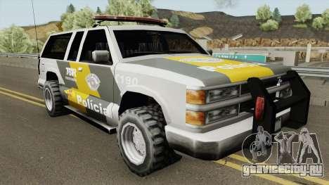 Policia Rodoviaria SP (Federal) TCG для GTA San Andreas