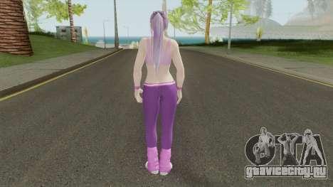 Ayane (Sport Leggings) From DOA5LR для GTA San Andreas