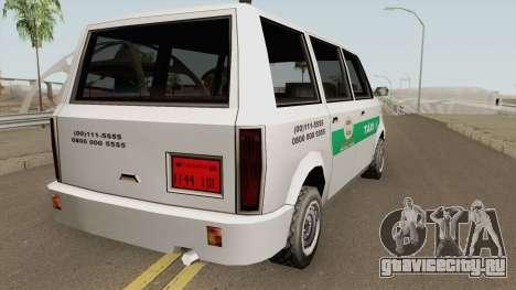 Cabbie Taxi Santos-SP (BH) для GTA San Andreas