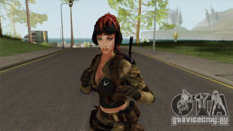 Engineer From Squad Aurora (Warface) для GTA San Andreas