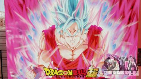 DBS Super Saiyan Blue Goku для GTA San Andreas