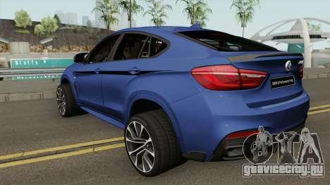 BMW X6 M Performance Parts для GTA San Andreas