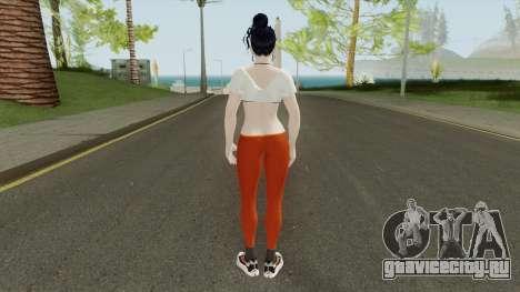 Nyotengu (Sport Leggings) From DOA5LR для GTA San Andreas