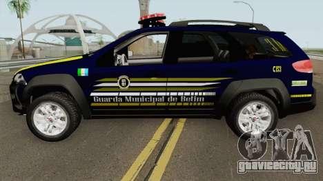 Fiat Palio Weekend Locker 2013 GM de BETIM для GTA San Andreas