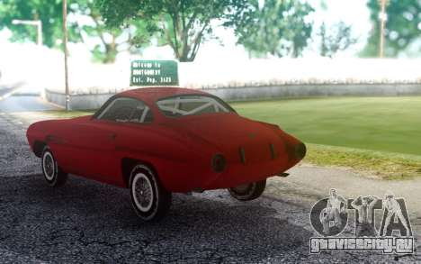 Fiat 8V Supersonic для GTA San Andreas