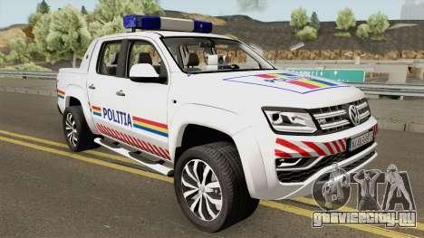 Volkswagen Amarok V6 - Politia Romana 2018 для GTA San Andreas