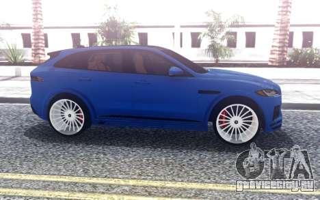 Jaguar F-Pace Hamann для GTA San Andreas