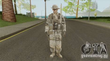Skin 5 (Spec Ops: The Line - 33rd Infantry) для GTA San Andreas