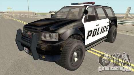 Vapid Prospector Police V2 GTA V IVF для GTA San Andreas