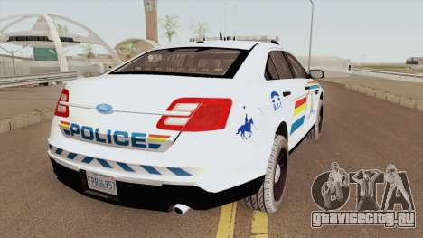 Ford Taurus Interceptor 2017 SASP RCPM для GTA San Andreas