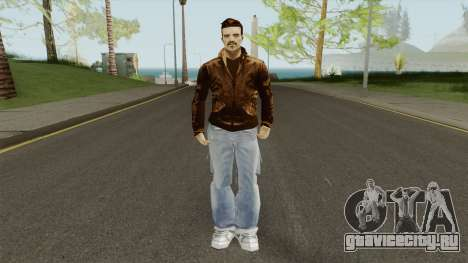 New Claude (GTA III Style) для GTA San Andreas