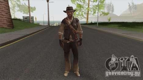 John Marston From Red Dead Redemption V1 для GTA San Andreas