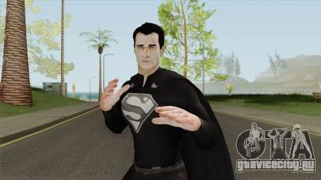 Black Superman From The Elseworlds Crossover для GTA San Andreas